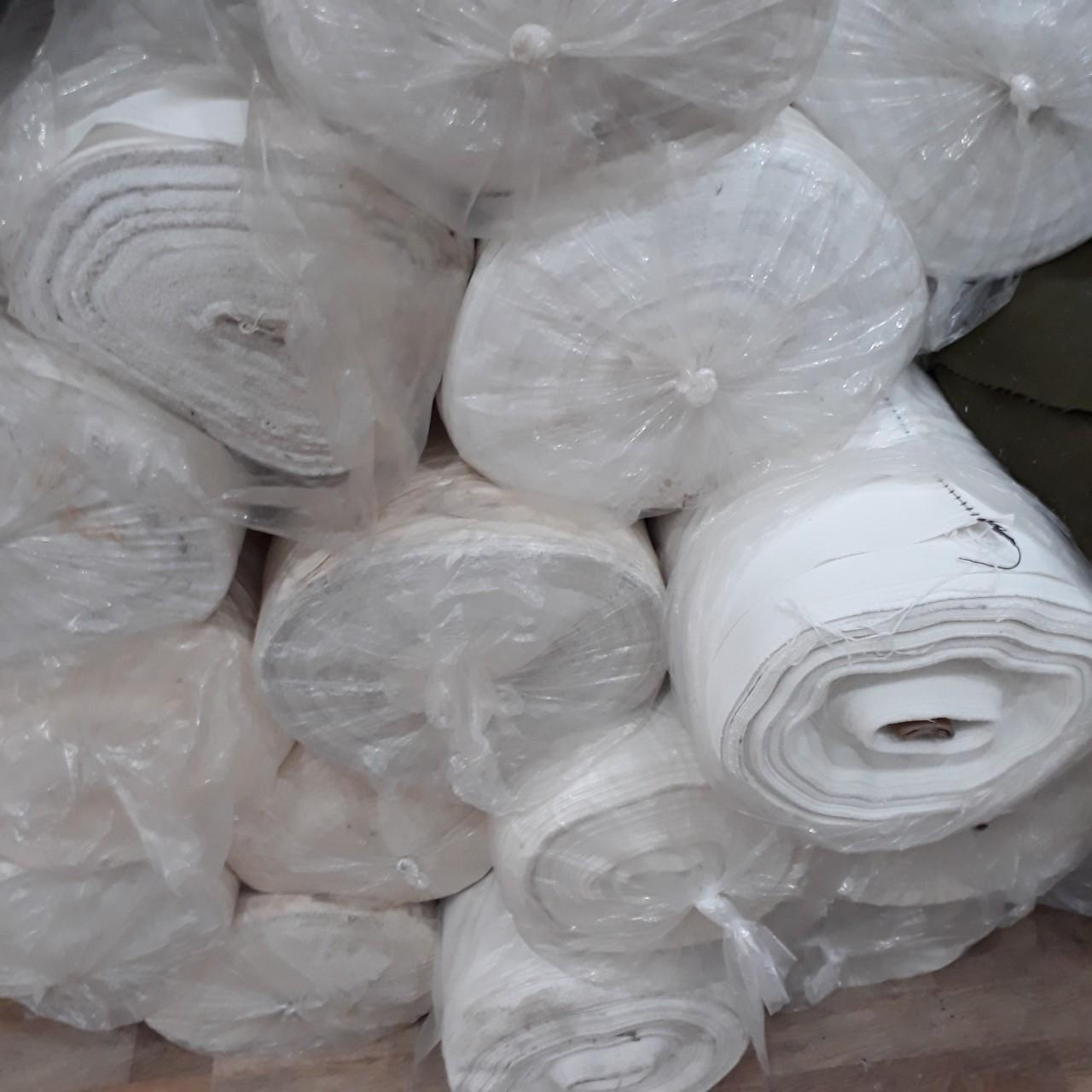 Vải canvas trắng hcm sợi trung tại STP Canvas chuyên bán vải canvas