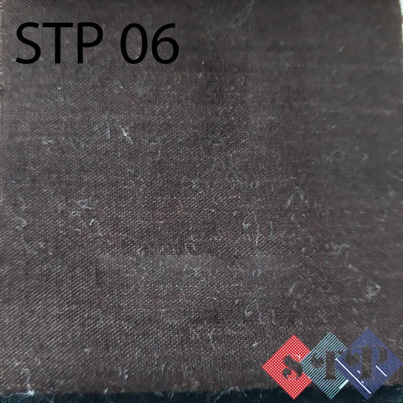 Vai kate giá rẻ nhuộm màu nâu tại STP Canvas