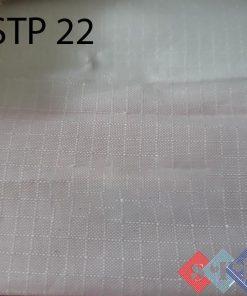 Vải 100 polyester mỏng có sọc ô vuông giá rẻ